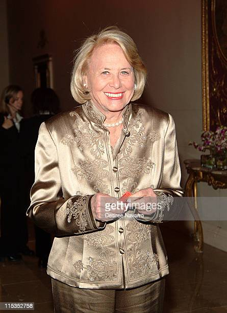 Liz Smith during 11th Annual Living Landmarks Gala at The Plaza Hotel in New York City New York United States