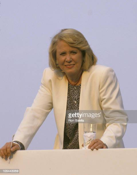 Liz Smith during 4th of July Cruise Party on the Trump Princess July 4 1988 at The Trump Princess in New York City New York United States