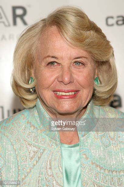 Liz Smith during Amfar 7th Annual 'Honoring With Pride' at The Rainbow Room at 30 Rockefeller Plaza in New York City New York United States