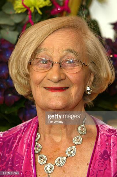Liz Smith during British Book Awards 2006 at Grosvenor House Hotel in London Great Britain