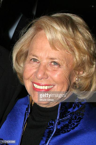 Liz Smith during Manhattan Theater Club 2006 Winter Benefit 'An Intimate Night' at The Rainbow Room in New York City New York United States