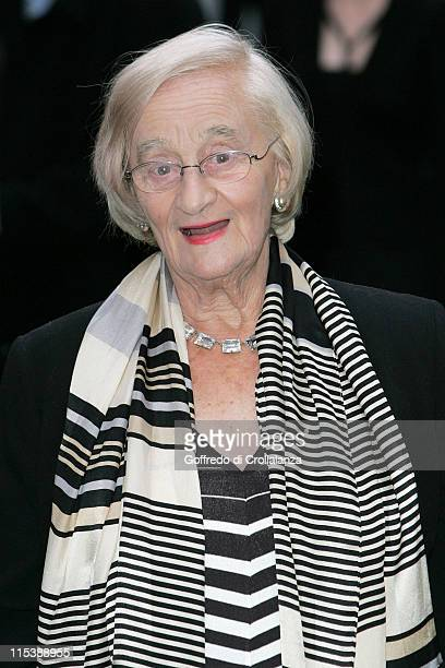 Liz Smith during 'Wallace Gromit The Curse of the WereRabbit' London Premiere at Odeon Leicester Square in London Great Britain