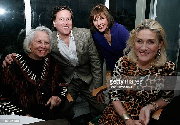 Liz Smith Steven Millington Judith Miller and Susan Magrino Dunning attend the 27th annual Evening of Readings PreGala kickoff at Michael's...