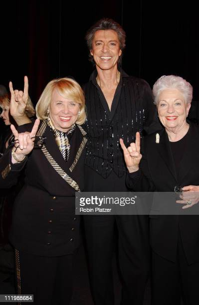 Liz Smith Tommy Tune and Governor Ann Richards during Opening night of Tommy Tune White Ties And Tails at Little Shubert Theater in New York NY...