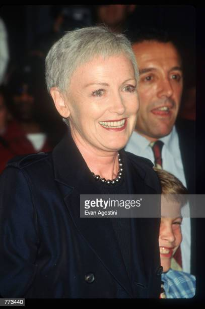 Liz Tilberis attends the premiere of Extreme Measures September 15 1996 in New York City The film based on Michael Palmer's novel was directed by...