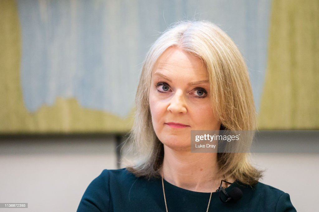 GBR: Liz Truss MP Delivers Speech To Think Tank Onward