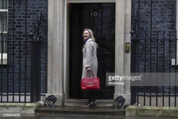 Liz Truss UK international trade secretary arrives at number 10 Downing Street in London UK on Thursday Feb 13 2020 Boris Johnsonfired a clutch of...