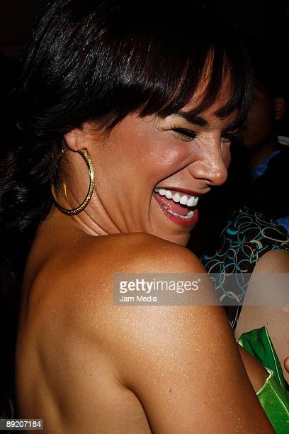 Liz Vega attends at the 39th edition of Diosas de Plata Awards on July 21 2009 in Mexico City Mexico