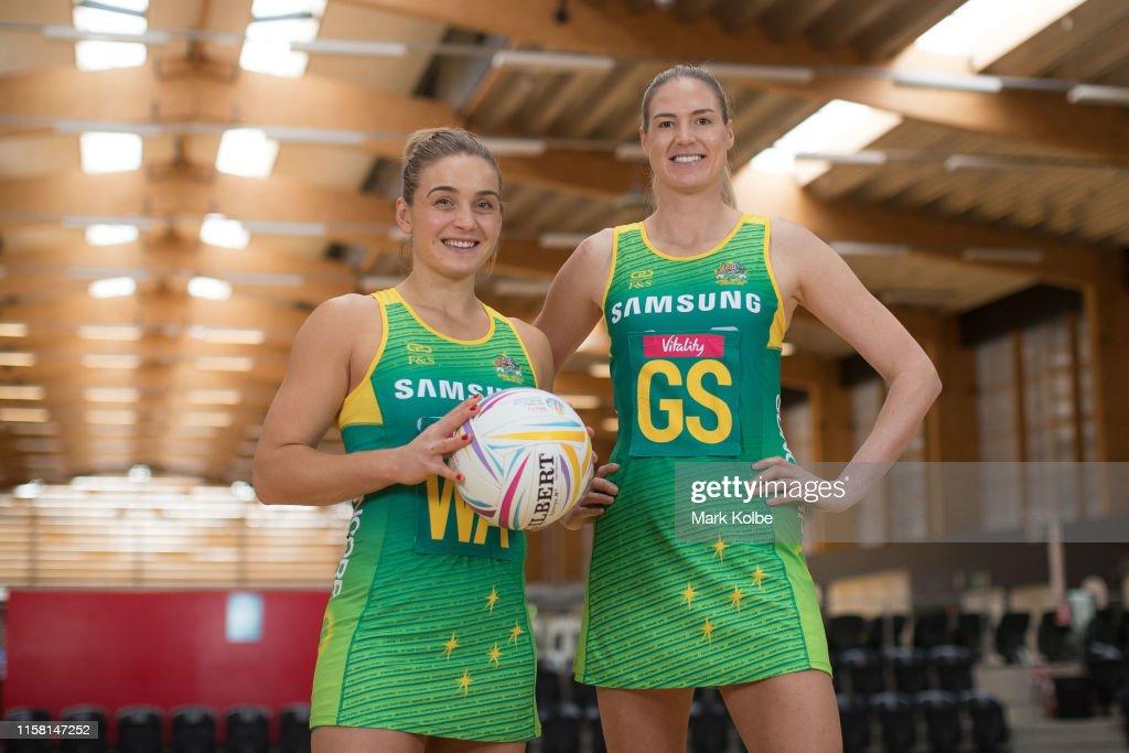 Australian Diamonds 2019 Netball World Cup Special Edition Dress Reveal : News Photo