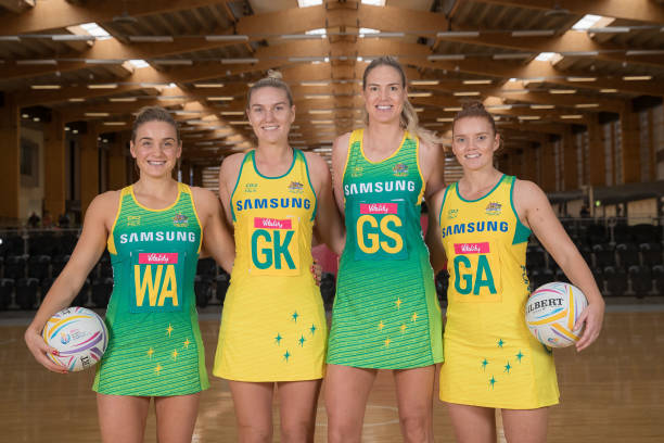 AUS: Australian Diamonds 2019 Netball World Cup Special Edition Dress Reveal
