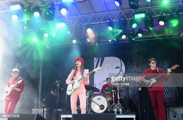 Liza Anne performs onstage during Pandora SXSW 2018 on March 13 2018 in Austin Texas