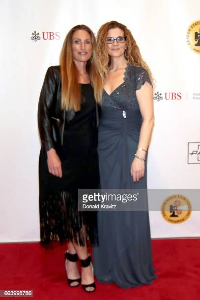 Liza Asner and Executive Director Garden State Film Festival Margaret Fontana attend award dinner during the 2017 Garden State Film Festival at...