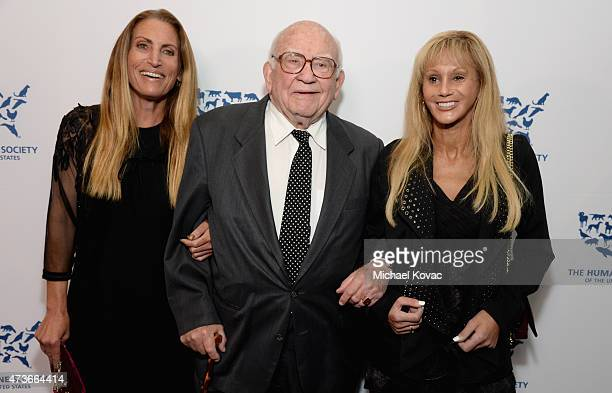 Liza Asner honoree Edward Asner and Lois Ressler attend The Humane Society Of The United States' Los Angeles Benefit Gala at the Beverly Wilshire...