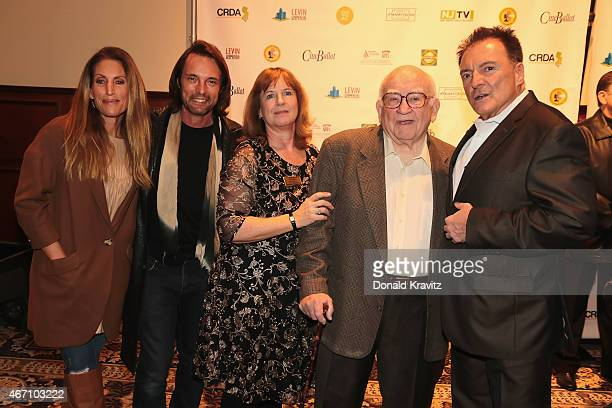Liza Asner James Wilder Diane Raver Ed Asner and Armand Assante appear at the 2015 Garden State Film Festival at Resorts Casino Hotel on March 20...