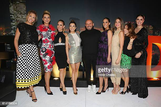 Liza Echeverria Cecilia Galliano Maya Karunna Laura G David Salomon Cynthia Urias Vielka Valenzuela Andrea Legarreta and Marlene Favela attend the...