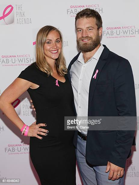 Liza Fitzpatrick and Ryan Fitzpatrick attend The Pink Agenda's 2016 Gala held at Three Sixty on October 13 2016 in New York City