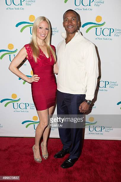 Liza Huber and Mike Woods attends the 6th Annual UCP Of NYC Santa Project Party and auction benefiting United Cerebral Palsy of New York City at The...
