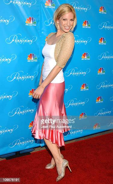 """Liza Huber during NBC's """"Passions"""" 7th Season Kick-Off Party at Universal Citywalk in Universal City, California, United States."""