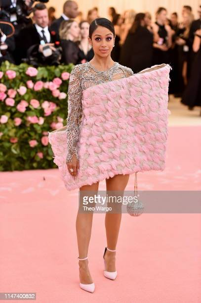 Liza Koshy attends The 2019 Met Gala Celebrating Camp Notes on Fashion at Metropolitan Museum of Art on May 06 2019 in New York City