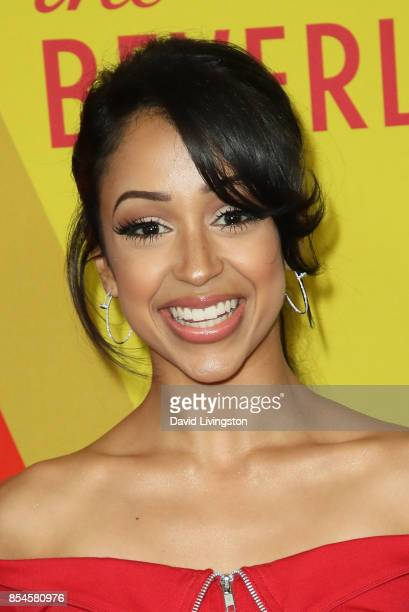 Liza Koshy attends the 7th Annual 2017 Streamy Awards at The Beverly Hilton Hotel on September 26 2017 in Beverly Hills California
