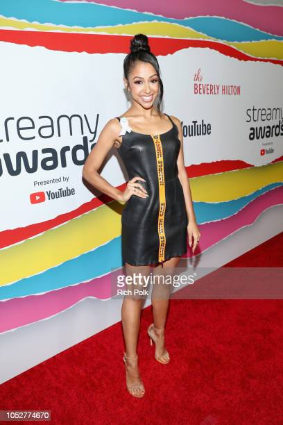 Liza Koshy attends The 8th Annual Streamy Awards at The Beverly Hilton Hotel on October 22 2018 in Beverly Hills California