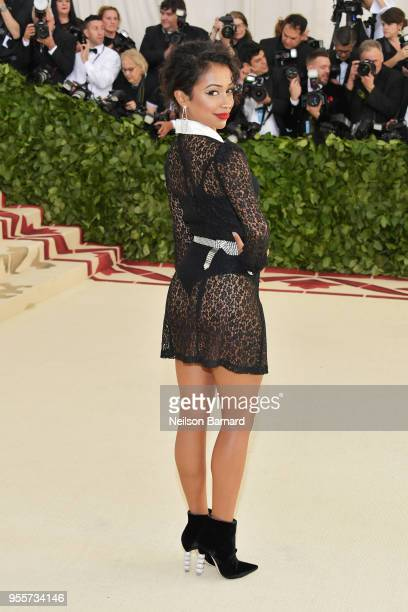 Liza Koshy attends the Heavenly Bodies Fashion The Catholic Imagination Costume Institute Gala at The Metropolitan Museum of Art on May 7 2018 in New...