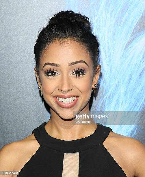 Liza Koshy attends the premiere of Lionsgate's 'Boo A Madea Halloween' on October 17 2016 in Hollywood California