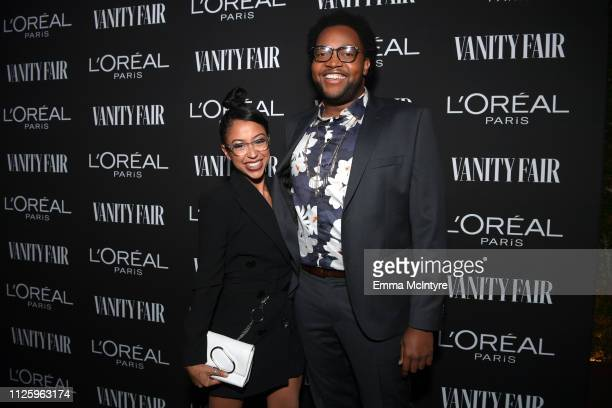 Liza Koshy is seen as Vanity Fair and L'Oréal Paris Celebrate New Hollywood on February 19 2019 in Los Angeles California