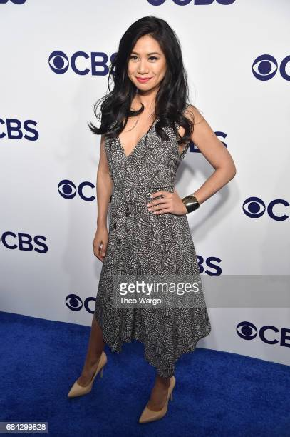 Liza Lapira attends the 2017 CBS Upfront on May 17 2017 in New York City