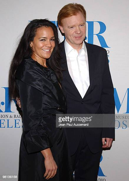 Liza Marquez and David Caruso