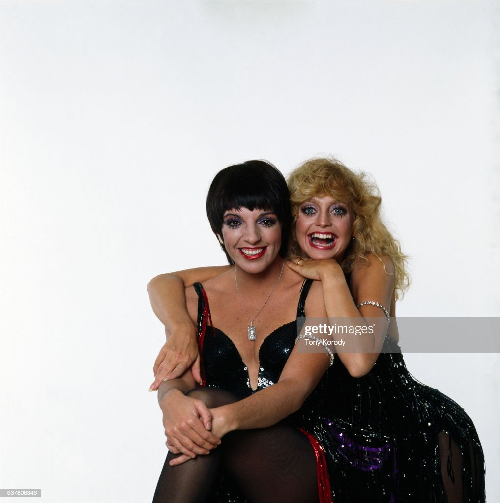 Liza Minelli and Goldie Hawn
