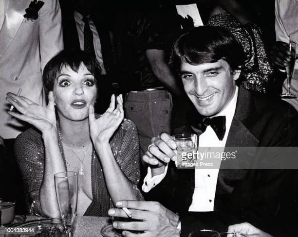 Liza Minelli and Mark Gero circa 1979 in New York