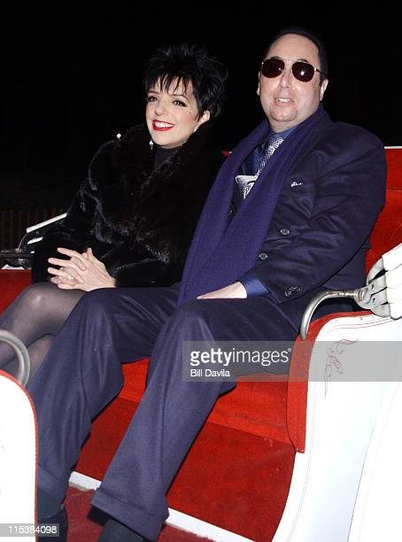 Liza Minnelli and David Gest during Liza Minnelli and David Gest Enjoy a Carriage Ride in Central Park in New York City on October 29 2002 at Central...