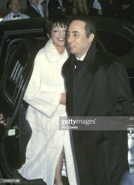 Liza Minnelli and David Gest during Wedding of Liza Minnelli and David Gest at The Marble Collegiate Church in New York City New York United States
