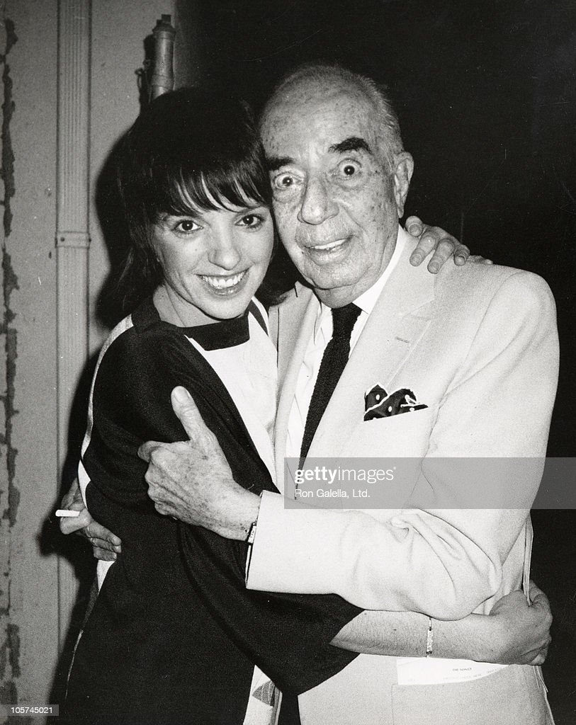 Liza Minnelli and father Vincente Minnelli during Charles