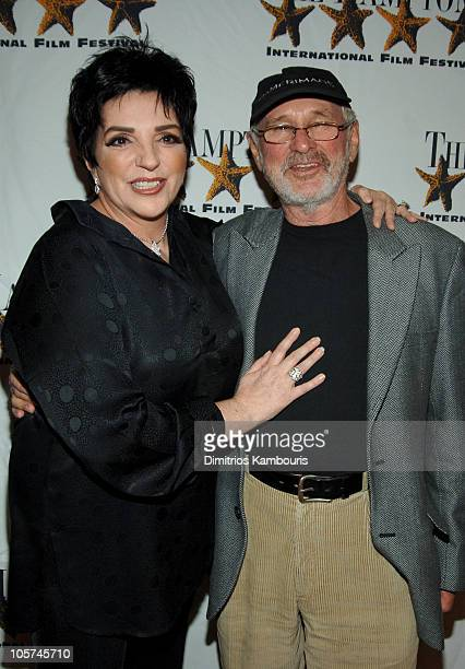 "Liza Minnelli and Norman Jewison during 13th Annual Hamptons International Film Festival - ""Liza With a Z"" Screening at Guild Hall in East Hampton,..."