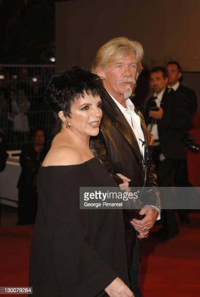 Liza Minnelli And Pierre Billon During  Cannes Film Festival Sin City Premiere In