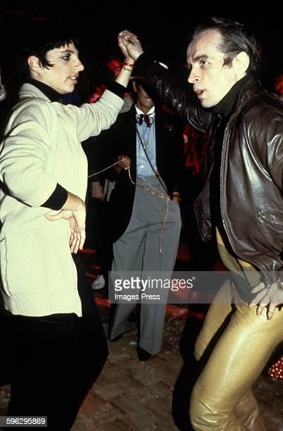 Liza Minnelli and Rudolf Nureyev circa 1979 in New York City
