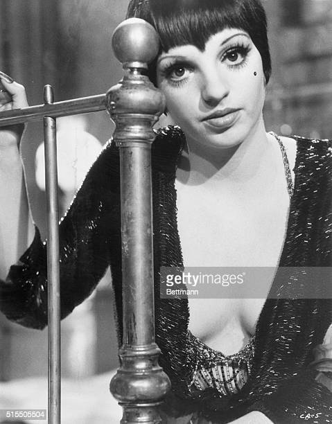 Liza Minnelli as Sally Bowles in Cabaret directed by Bob Fosse. The motion picture was released in 1972.