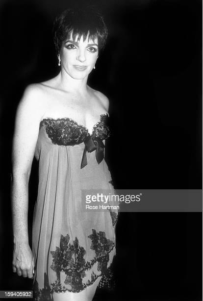 Liza Minnelli at Saks Fifth Avenue party for Oscar de la Renta New York New York 1982