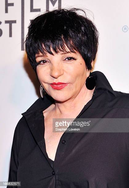 "Liza Minnelli attends ""Mistaken For Strangers"" Opening Night Premiere during the 2013 Tribeca Film Festival - on April 17, 2013 in New York City."