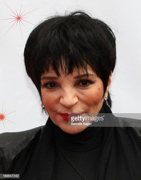 Liza Minnelli attends the Media Opening for Kinky Boots on Broadway 'KinkyBway' at the Al Hirschfeld Theatre on April 4 2013 in New York City