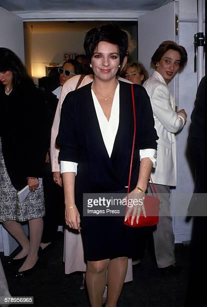 Liza Minnelli circa 1987 in New York City