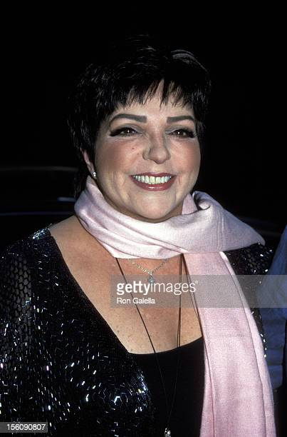 Liza Minnelli during 14th Annual MAC Awards at Town Hall in New York City New York United States