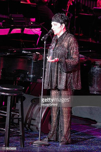 Liza Minnelli during Liza Minnelli Celebrates Her Birthday with a Special Performances in the Spotlight Series at Luxor Hotel and Casino March 29...