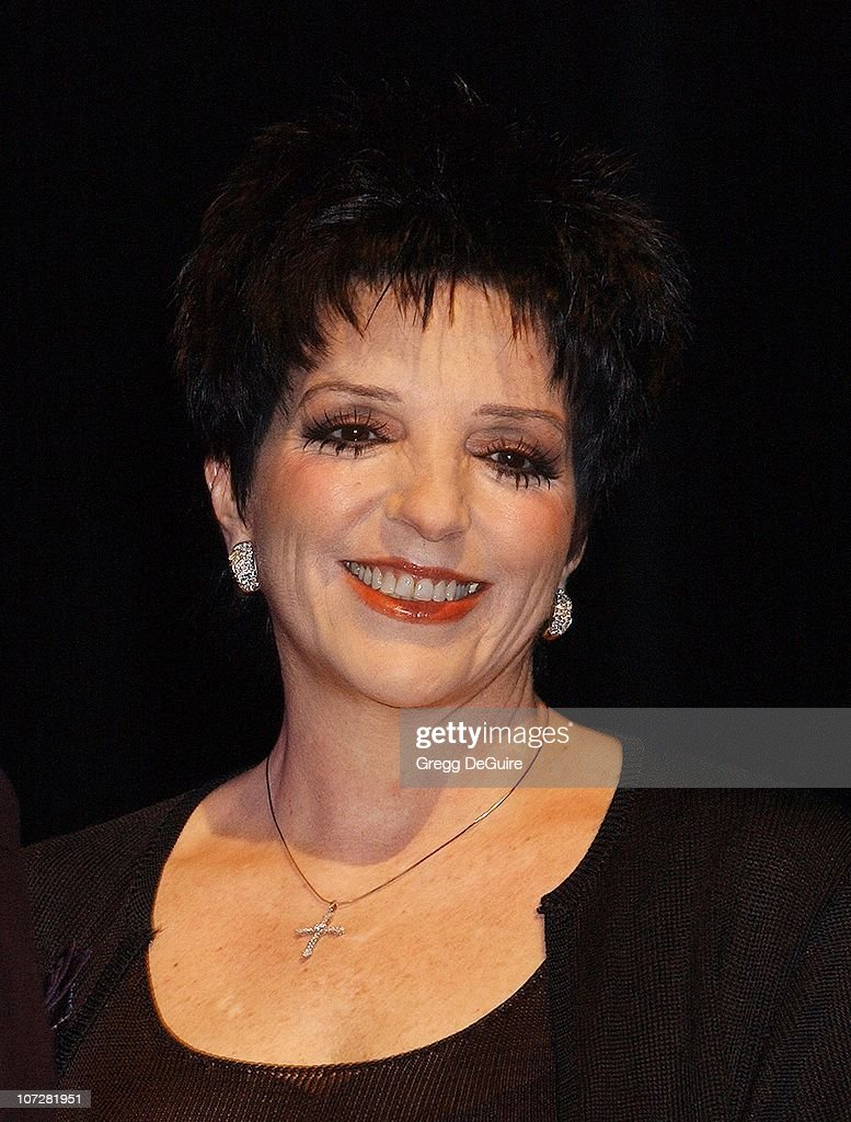 Liza Minnelli during Liza Minnelli & David Gest Announce Their New VH1 Musical Reality Series, 'Liza & David' at House of Blues in West Hollywood, California, United States.