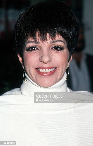"""Liza Minnelli during Liza Minnelli In-Store Appearance to Promote """"Liza Minnelli: Live from Radio City Music Hall"""" at Sam Goody in New York City -..."""