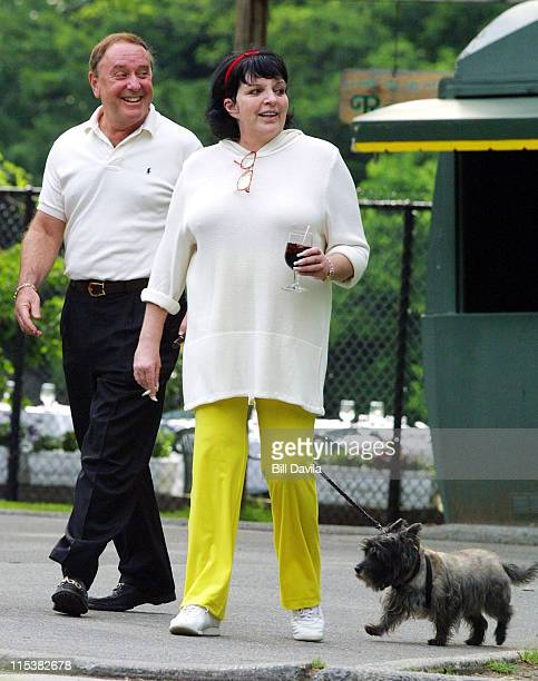 Liza Minnelli during Liza Minnelli Out and About in Central Park at Central Park in New York City New York United States