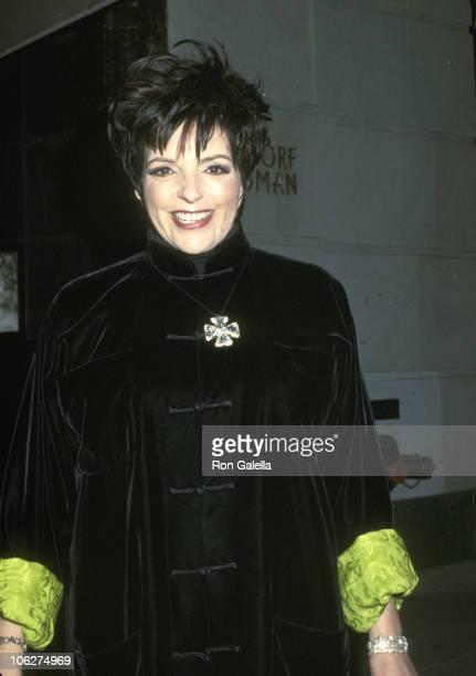Liza Minnelli during Liza Minnelli Shopping at Bergdorf Goodman December 12 2001 at Bergdorf Goodman in New York City New York United States