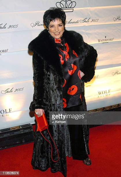 Liza Minnelli during The 2005 Princess Grace Awards at Cipriani 42nd Street in New York City New York United States